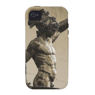 Perseus con el jefe de la medusa iPhone 4/4S carcasa