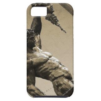 Perseus con el jefe de la medusa iPhone 5 carcasas