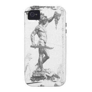 Perseus con el jefe de la medusa iPhone 4/4S fundas