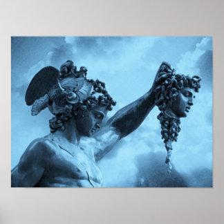 Perseus contra medusa póster
