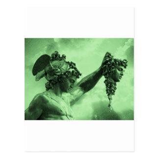 Perseus contra medusa tarjetas postales