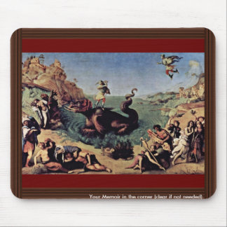 Perseus Freed Andromeda By Piero Di Cosimo Mouse Pad