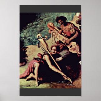 Perseus Freed Andromeda By Piero Di Cosimo Poster