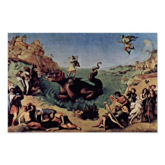 Perseus Freed Andromeda By Piero Di Cosimo Poster