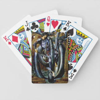 Perseus Man Dragon Fight Sword Painting Bicycle Card Deck