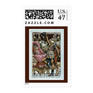 Perseus Showing the Gorgon's Head Postage