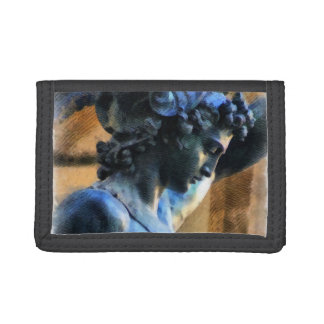 Perseus Statue Illustration Trifold Wallet