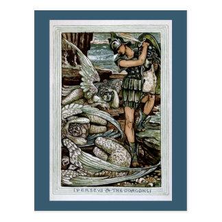 Perseus & the Gorgons Postcards