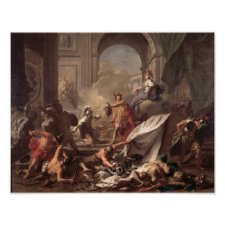 Perseus, under the protection of Minerva Poster