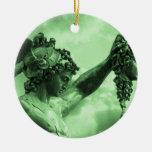Perseus vs Medusa Christmas Ornament