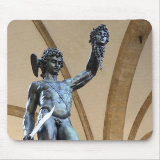 perseus with the head of medusa mouse pad