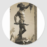 Perseus with the head of Medusa Stickers