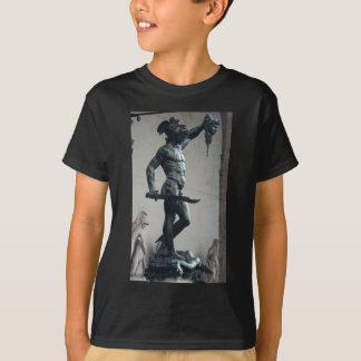 Perseus With The Head Of Medusa T-Shirt