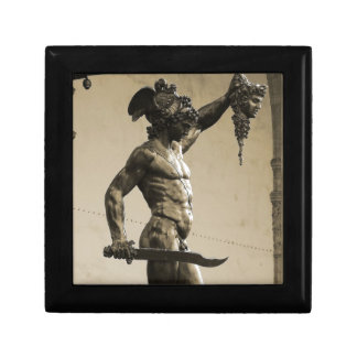 Perseus with the head of Medusa Trinket Boxes