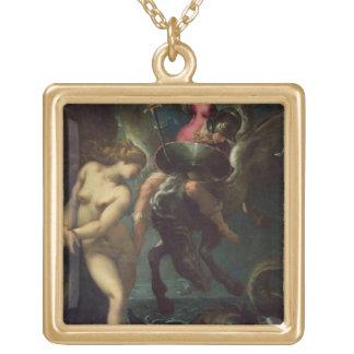 Perseus y Andromeda, c.1610 (aceite en lona) Colgante Cuadrado