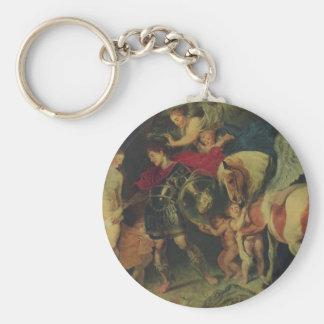 Perseus y Andromeda (C. 1622) Llavero Redondo Tipo Pin