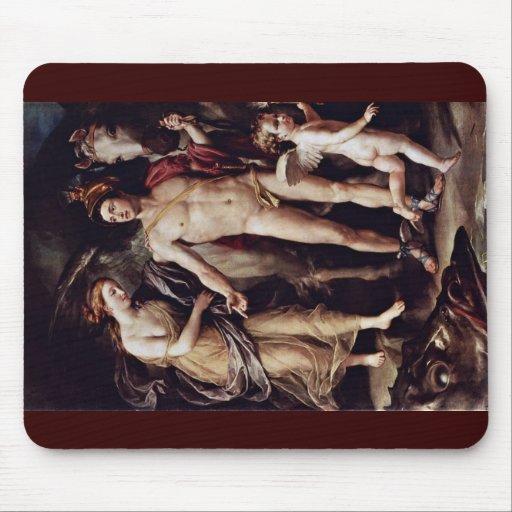 Perseus y Andromeda por Raphael de Mengs Antón Tapetes De Ratones
