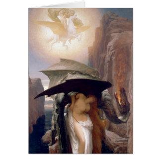Perseus y Andromeda Tarjeta De Felicitación