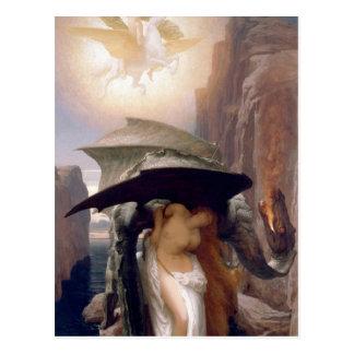 Perseus y Andromeda Tarjeta Postal