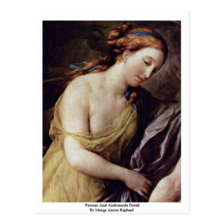 Perseus y detalle del Andromeda Tarjetas Postales