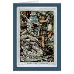 Perseus y el Gorgons Felicitacion
