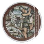Perseus y el Gorgons Plato Para Fiesta