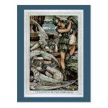 Perseus y el Gorgons Tarjetas Postales