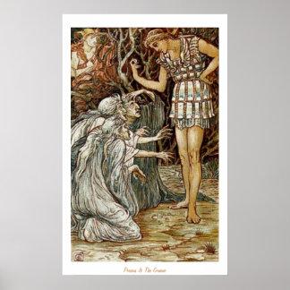 Perseus y el Graeae Póster
