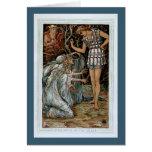 Perseus y el Graiae Tarjeta De Felicitación