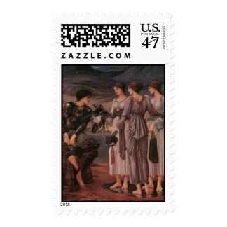 Perseus y las ninfas de mar de Burne-Jones Sellos
