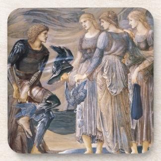 Perseus y las ninfas de mar posavasos