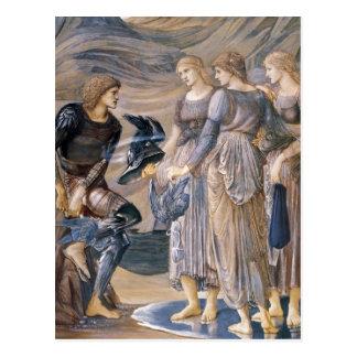 Perseus y las ninfas de mar postal