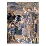 Perseus y las ninfas de mar tarjeta postal