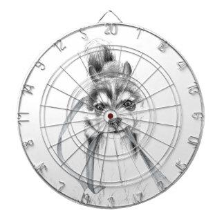 Perseverance, A Siberian Husky Dartboard