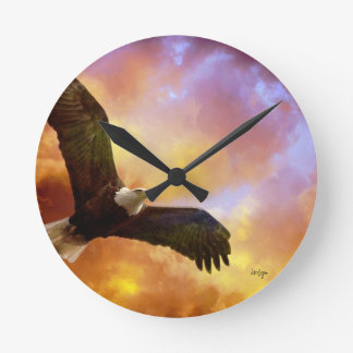Perseverance American Eagle Clock from Lois Bryan