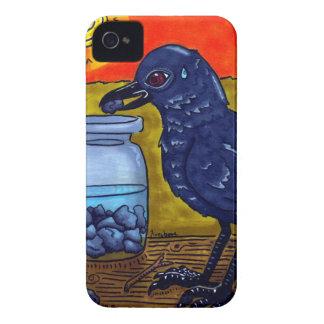 Perseverance Crow Case-Mate iPhone 4 Case