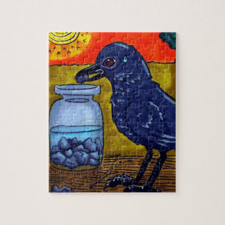 Perseverance Crow Puzzle