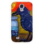 Perseverance Crow Samsung Galaxy S4 Cases