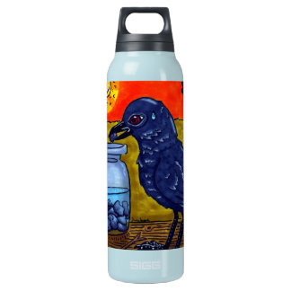 Perseverance Crow SIGG Thermo 0.5L Insulated Bottle