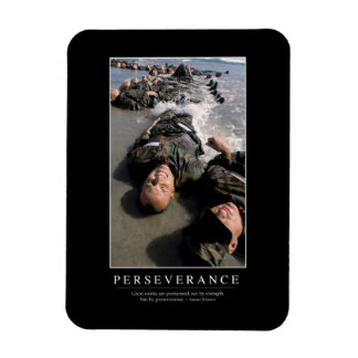 Perseverance: Inspirational Quote Magnet
