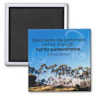 Perseverance Motivational Magnet