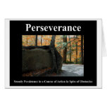 Perseverance Note Card