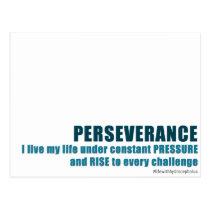 Perseverance Postcard