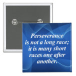 Perseverence Pinback Buttons
