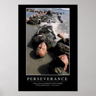 Perseverencia: Cita inspirada Póster