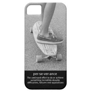 Perseverencia de Longboard iPhone 5 Carcasas