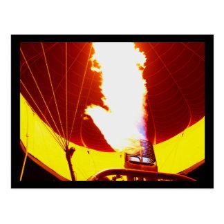 Pershing Balloon Derby 2009 Postcard