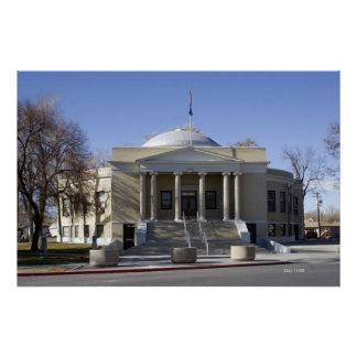 Pershing County Courthouse, Lovelock, Nevada Poster