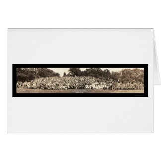 Pershing Family Reunion Photo 1923 Greeting Card