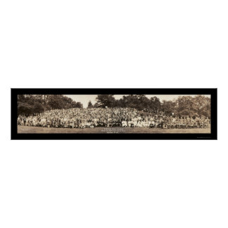 Pershing Family Reunion Photo 1923 Poster